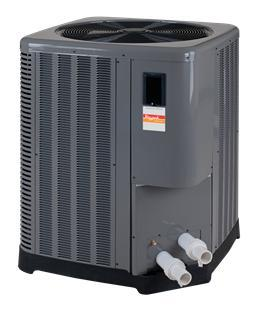 RayPak Classic Series Digital Pool Heat Pump - 137,000 BTU - Heat & Cool-Aqua Supercenter Pool Supplies