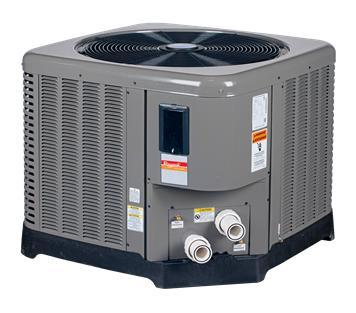 RayPak Compact Series 4450TI-E Pool Heat Pump - 80,000 BTU-Aqua Supercenter Pool Supplies