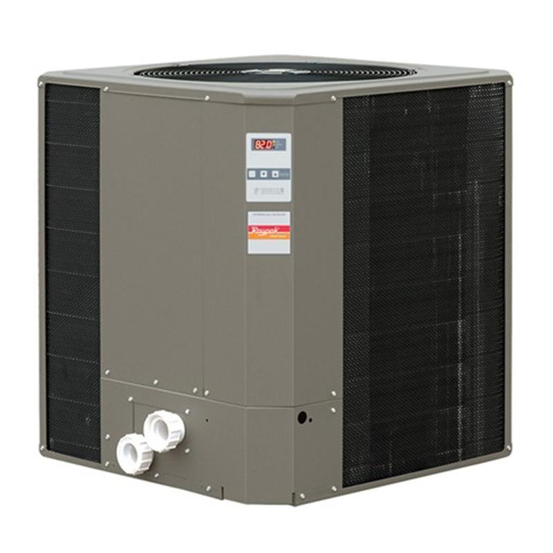 RayPak Ruud 117,000 BTU Pool Heat Pump - WeatherKing-Aqua Supercenter Outlet - Discount Swimming Pool Supplies