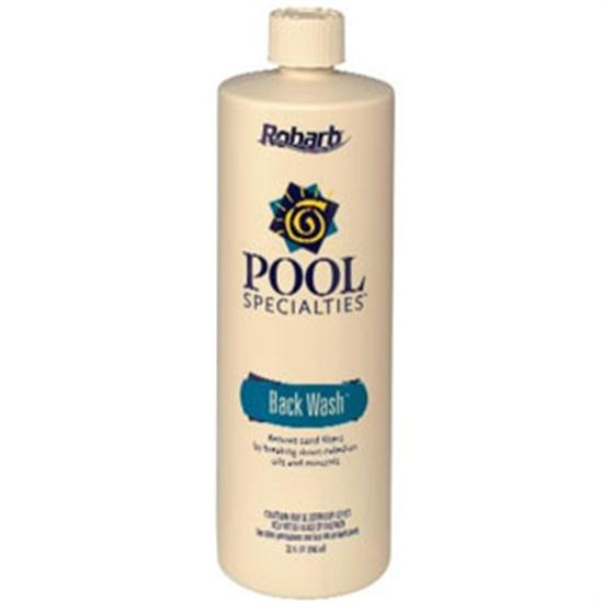 Robarb Backwash Filter Cleaner 1 Quart - 1 Bottle-Aqua Supercenter Outlet - Discount Swimming Pool Supplies
