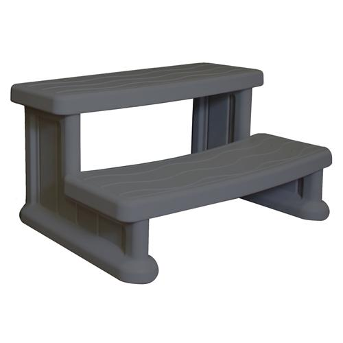 Spa Side Step - Dark Grey-Aqua Supercenter Outlet - Discount Swimming Pool Supplies