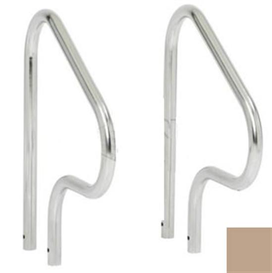"SR Smith 30"" Figure-4 HandRail Pair - .049"" thick - Taupe-Aqua Supercenter Outlet - Discount Swimming Pool Supplies"