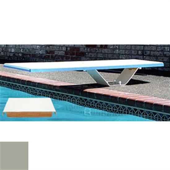 SR Smith 8' Frontier III Diving Board - Silver Gray - Matching Thread-Aqua Supercenter Outlet - Discount Swimming Pool Supplies
