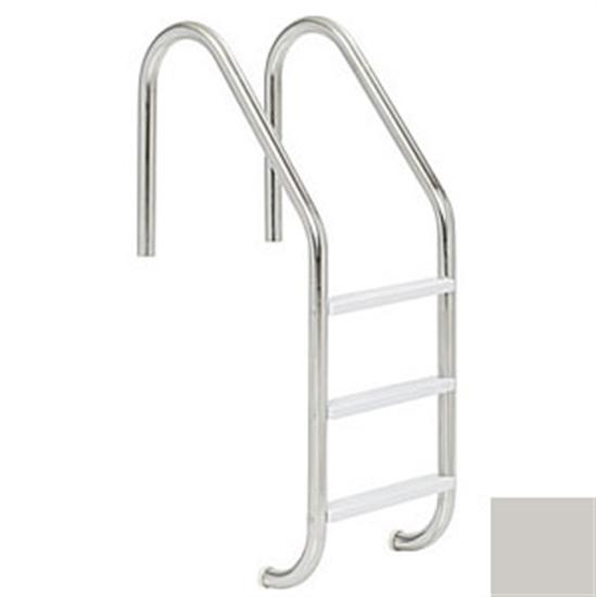 "SR Smith Deck Mounted Stair Rail - .049"" thick - Silver Gray-Aqua Supercenter Outlet - Discount Swimming Pool Supplies"
