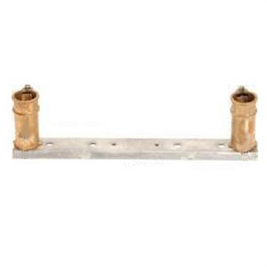 SR Smith Double Anchor Socket Assembly - Gibralter w- Jig Plate-Aqua Supercenter Outlet - Discount Swimming Pool Supplies