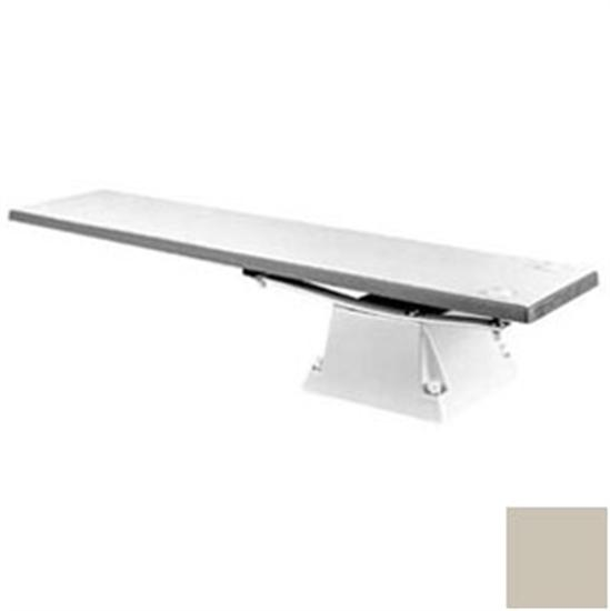 SR Smith Flyte-Deck Stand with 8' Fibre-Dive Board - Silver Gray-Aqua Supercenter Outlet - Discount Swimming Pool Supplies