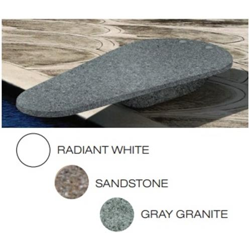 SR Smith Gray Granite FreeStyle Diving Board with Rock Gray Cantilever Stand-Aqua Supercenter Outlet - Discount Swimming Pool Supplies