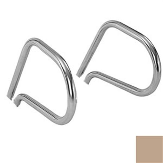 SR Smith Residential Ring Handrails - Pair - No Anchors - Taupe-Aqua Supercenter Pool Supplies