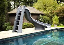 "SR Smith Typhoon Slide 88"" Right Curve Gray Granite-Aqua Supercenter Outlet - Discount Swimming Pool Supplies"