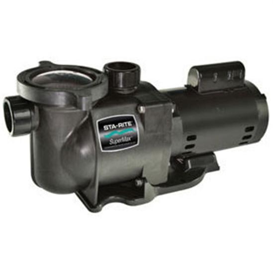 Sta-Rite Super Max 1 1/2 HP Pump-Aqua Supercenter Outlet - Discount Swimming Pool Supplies