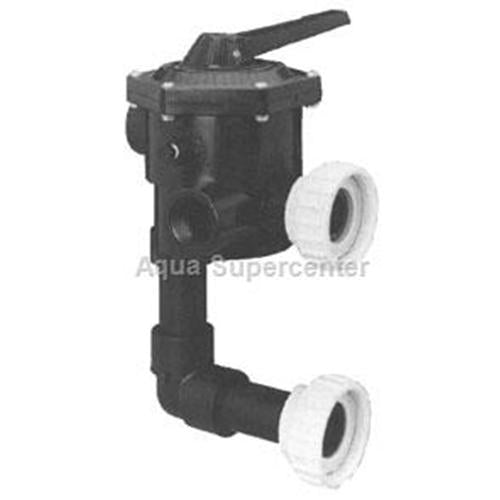 "Sta-Rite System 3 Modular DE Multi-port Valve 2"" -182010300-Aqua Supercenter Outlet - Discount Swimming Pool Supplies"