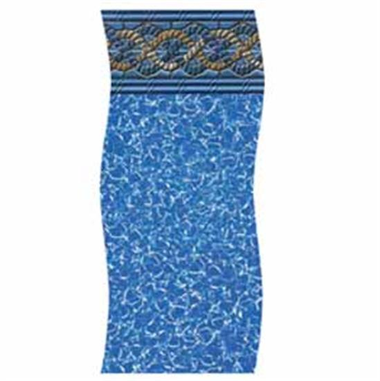 "Swimline H-G Gold Coast 52"" Unibead Vinyl Liner - 18' x 40' Oval-Aqua Supercenter Outlet - Discount Swimming Pool Supplies"