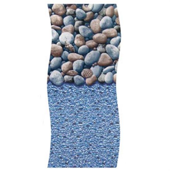 Swimline H-G Ocean Rock Overlap Vinyl Liner - 12' x 17' Oval-Aqua Supercenter Outlet - Discount Swimming Pool Supplies