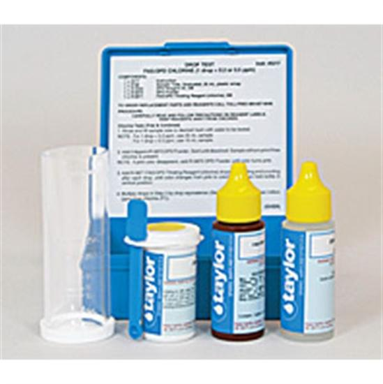 Taylor Chlorine FAS-DPD Drop Test Kit-Aqua Supercenter Outlet - Discount Swimming Pool Supplies