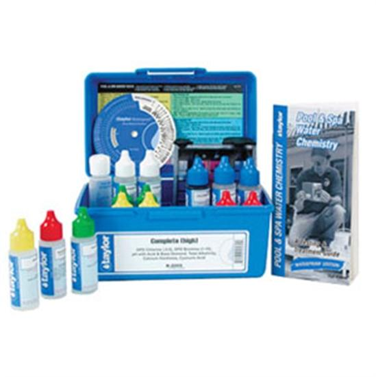 Taylor Commercial Liquid DPD Test Kit High Range - 0.75 oz-Aqua Supercenter Outlet - Discount Swimming Pool Supplies