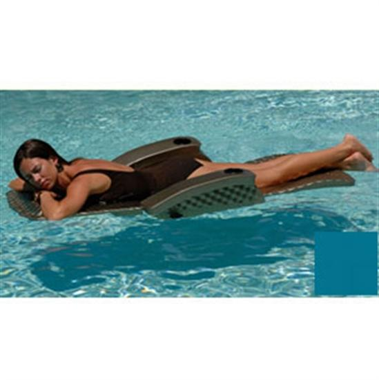 Texas Recreation Super Soft Adjustable Recliner - Aquamarine-Aqua Supercenter Outlet - Discount Swimming Pool Supplies