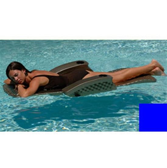 Texas Recreation Super Soft Adjustable Recliner - Blue-Aqua Supercenter Outlet - Discount Swimming Pool Supplies