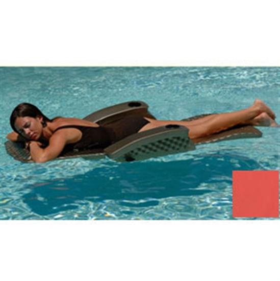 Texas Recreation Super Soft Adjustable Recliner - Coral-Aqua Supercenter Outlet - Discount Swimming Pool Supplies