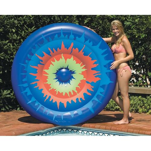 Tie Dye Island Lounger-Aqua Supercenter Outlet - Discount Swimming Pool Supplies