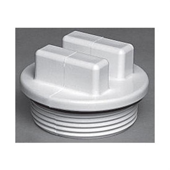 "Waterway 2"" Plug With O-Ring - White-Aqua Supercenter Outlet - Discount Swimming Pool Supplies"