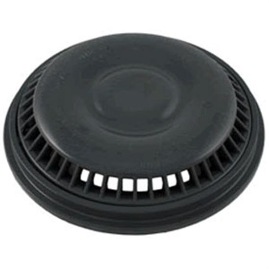 "Waterway Mini Drain Cover And Frame 8"" Anti-Vortex - Dark Gray-Aqua Supercenter Outlet - Discount Swimming Pool Supplies"