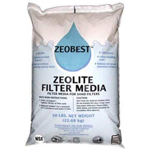 Zeobest Sand Alternative - 25 Lb Bag-Aqua Supercenter Outlet - Discount Swimming Pool Supplies