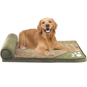Pawprint Dog Bed
