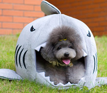 Load image into Gallery viewer, Shark Dog House (for small dogs)