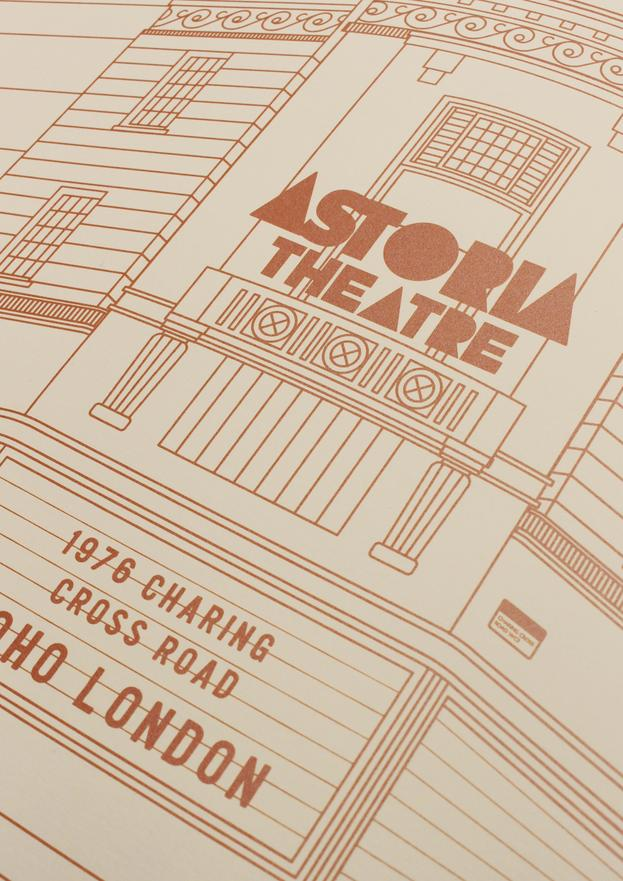 The London Astoria - Giclée Print