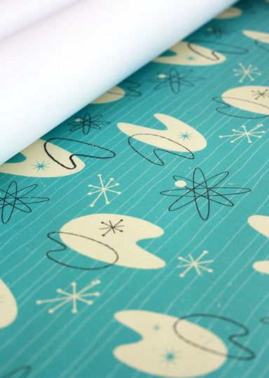 Atomic Gift Wrap Pack (6 sheets)