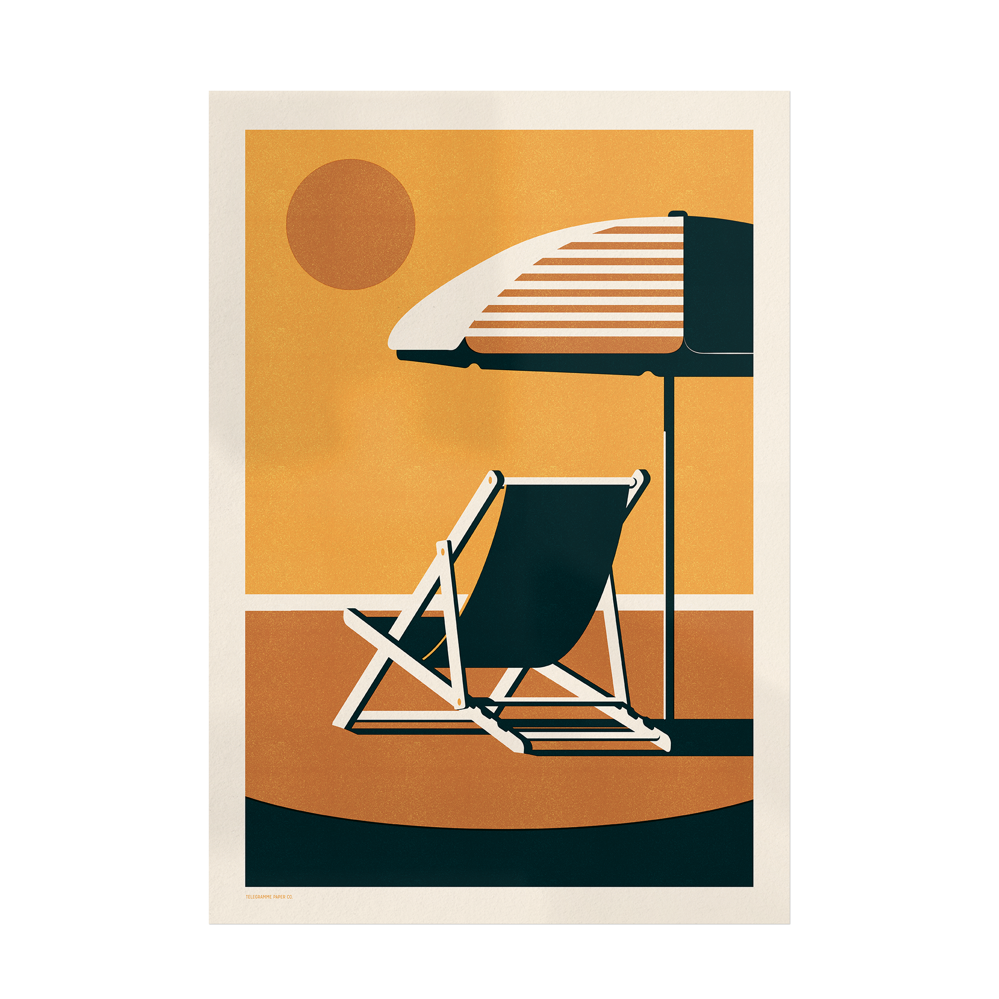 Endless Summer - Deckchair - Giclée Print