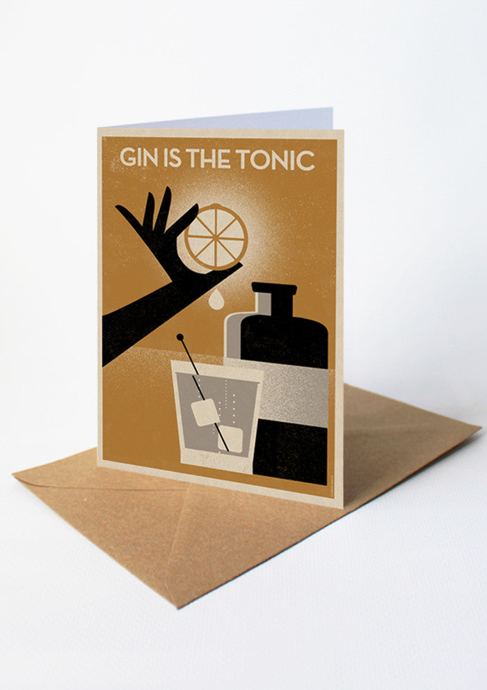 GIN IS THE TONIC