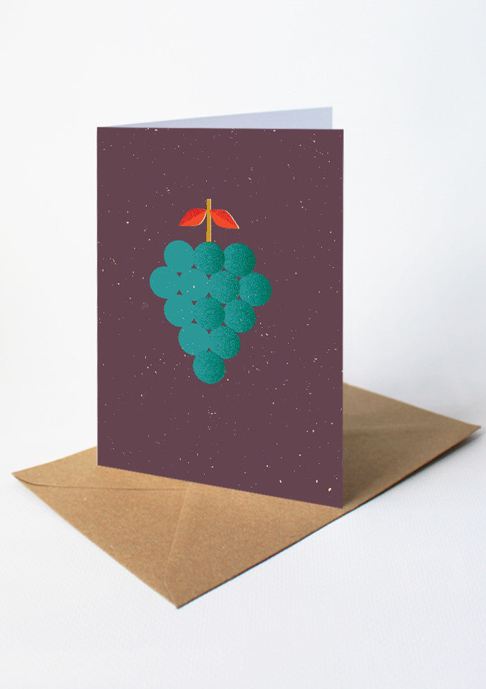 Grapes Card