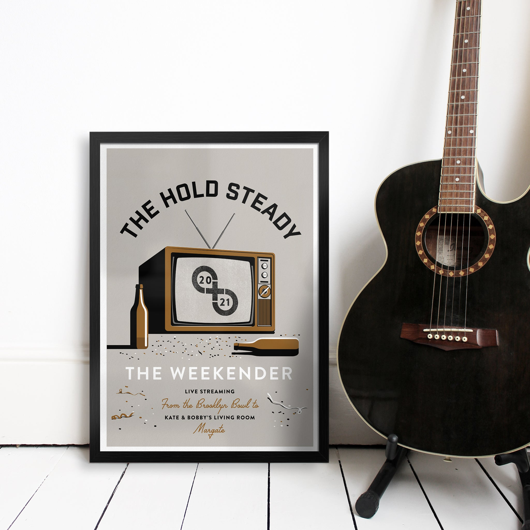 The Hold Steady Weekender '21 Personalised Print