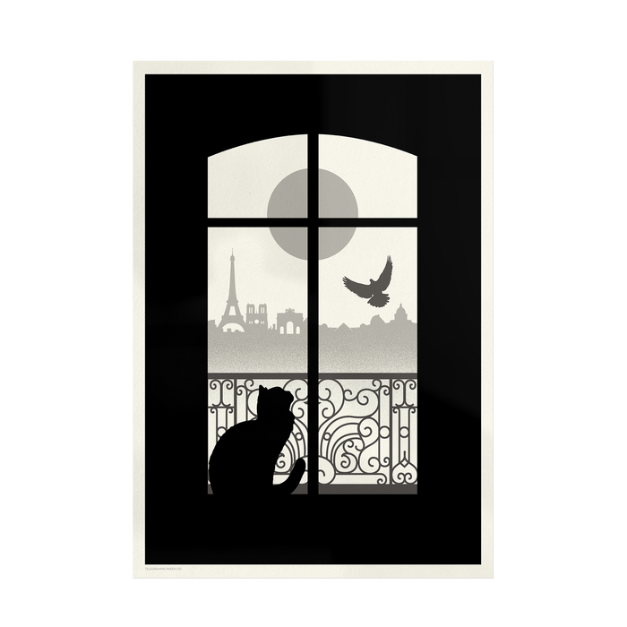 Paris City - Giclée Print