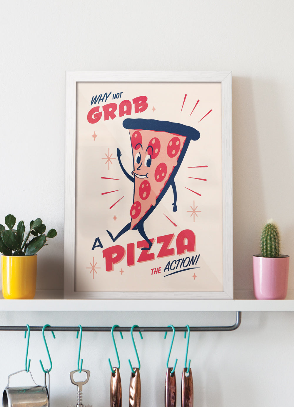 Snack Pack Pizza - Giclée Print