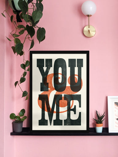 You & Me - Giclée Print