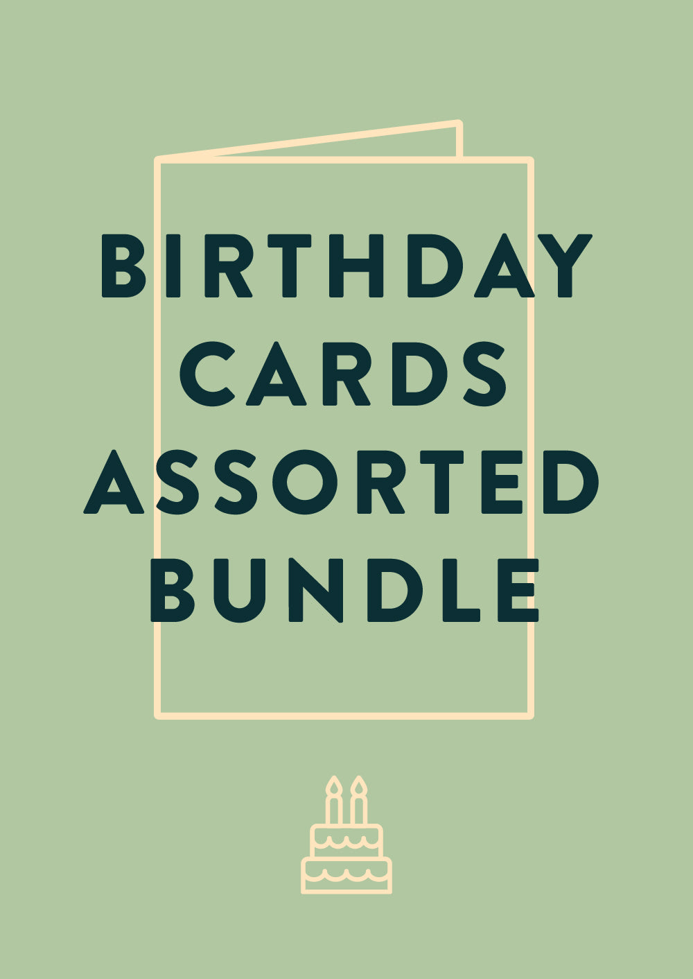 Birthday Card Bundle Telegramme Paper Co