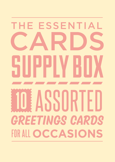 Essential Greetings Card Supply Box - 10 card set