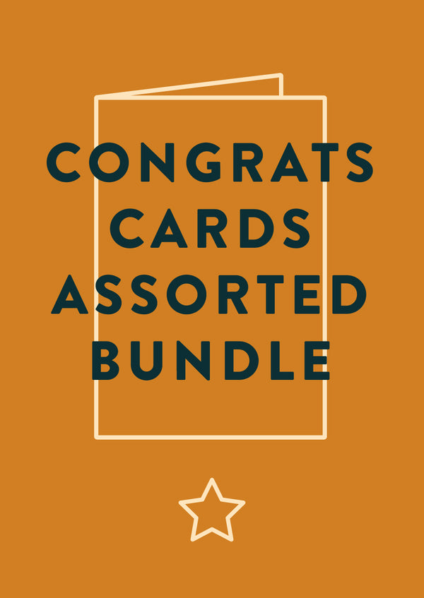 Congratulations Card bundle