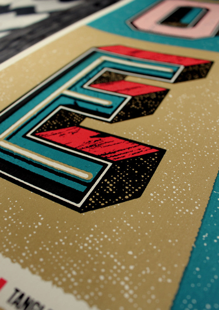 OWEN SCREENPRINTED POSTER