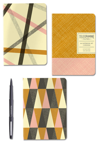 GEOMETRIC NOTEBOOK SET