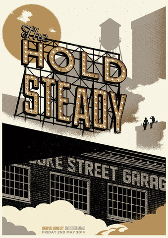 HOLD STEADY POSTER