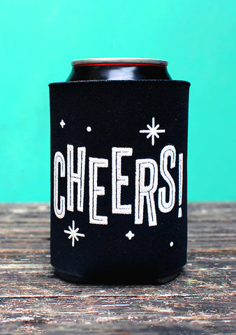 Cheers beer koozie