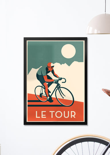 Le Tour - Timed edition Giclée Print