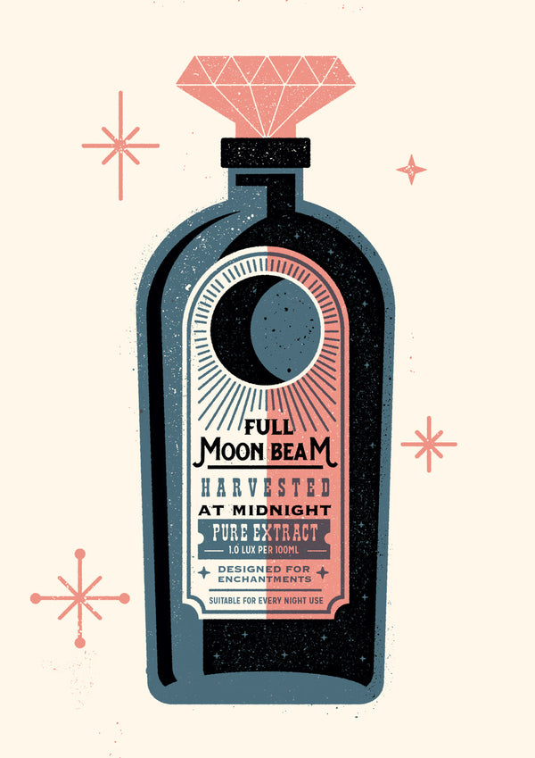 MOONBEAM - SCREENPRINT