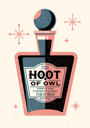 Hoot of Owl - Screenprint