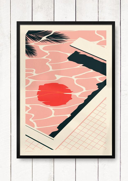 Endless Summer - Pool - Giclée Print