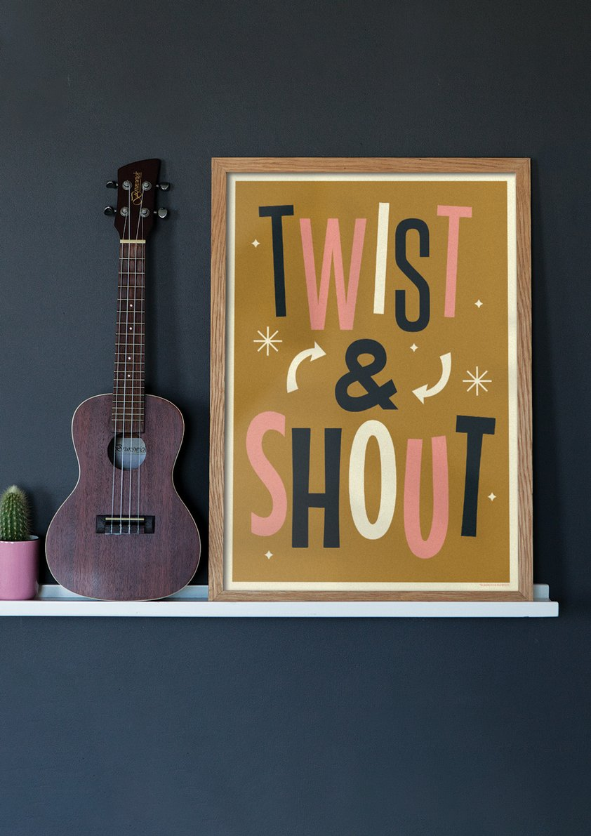 Twist & Shout - Giclée Print