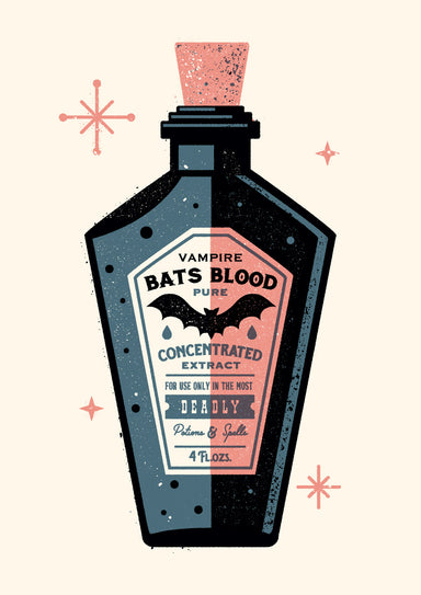 BAT'S BLOOD - Giclée print